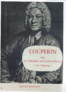 Couperin, Francois - Suite - Altblockflöte und Cembalo