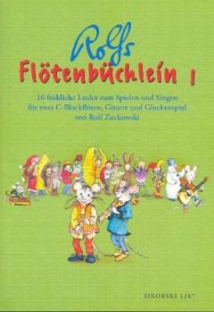Zuckowski, Rolf - Flötenbüchlein 1 - SS / Gitarre / Glockenspiel ad. lib.
