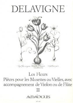 Delavigne, Philibert - Les Fleurs -  Band 2  2 Altblockflöten