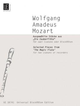 """Mozart, Wolfgang Amadeus Ausgewählte Stücke aus -""""Die Zauberflöte"""" - 2 Sopranblockflöten"""