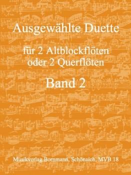Bornmann, Johannes (Hrg.) - Ausgewählte Duette Band 2 - 2 Altblockflöten