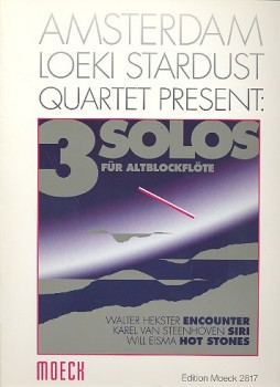 Steenhoven, Karel van (Hrg.) - Drei Solos - Altblockflöte solo