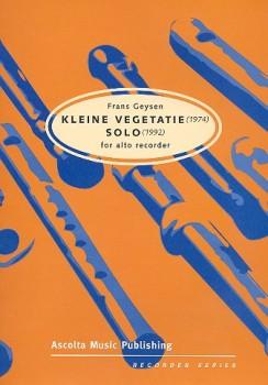 Geysen, Frans - Kleine Vegetatie - Altblockflöte solo