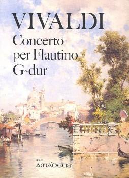 Vivaldi, Antonio - Concerto G-dur  - Klavierauszug Sopranblockflöte und Streicher
