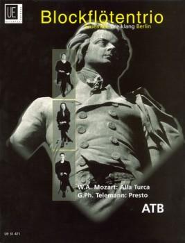 Ensemble Dreiklang Berlin (Hrg.) - Mozart / Telemann - ATB