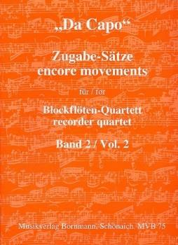 Bornmann, Johannes (Hrg.) - Da Capo - Zugabe-Sätze  - Band 2 AATB