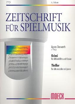Dorwarth, Agnes - Krimi - Altblockflöte und Klavier