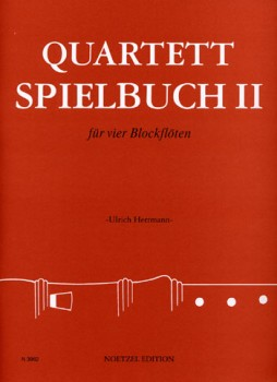 Herrmann, Ulrich (Hrg.) - Quartett-Spielbuch II - SATB / AATB / ATTB / SSAT