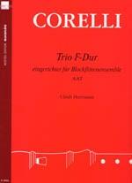 Corelli, Arcangelo - Trio F-dur - AAT