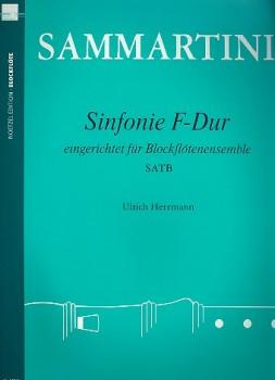Sammartini, Giuseppe - Sinfonie F-dur  - SATB