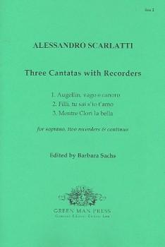 Scarlatti, Alessandro - Drei Kantataen - Sopran, 2 Altblockflöten und Bc