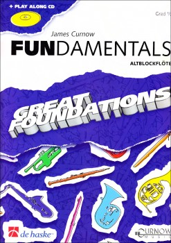 Curnow, James - Fundamentals - Altblockflöte, Klavier + CD