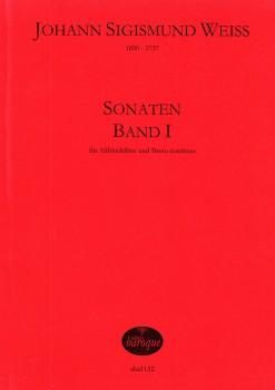 Weiss, Johann Sigismund - Vier Sonaten Band I - Altblockflöte und Basso continuo