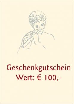 Geschenkgutschein € 100,-