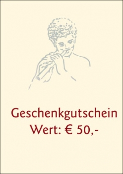 Geschenkgutschein € 50,-