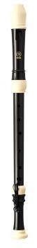 Tenorblockflöte<br>Yamaha YRT-304B III<br> Kunststoff, braun/weiß, barocke Griffweise