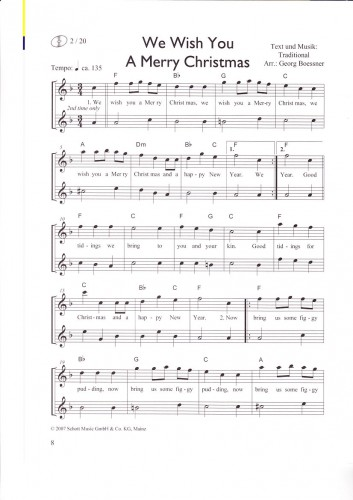 Oh Tannenbaum Blockflöte.Wingerter Christmas Hits Blockflöten Weihnachten Noten Ed20236