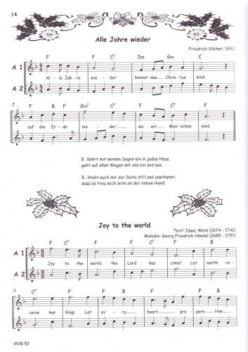 Spanische Weihnachtslieder.Bornmann Weihnachtslieder Weihnachten Blockflöten Noten Mvb52