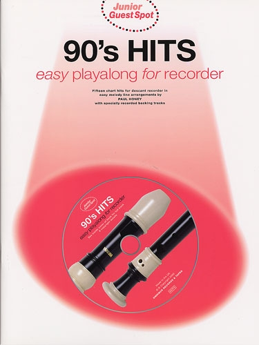 90's Hits -  (arr. Paul Honey) Easy Playalong For Recorder  Soprano recorder & CD