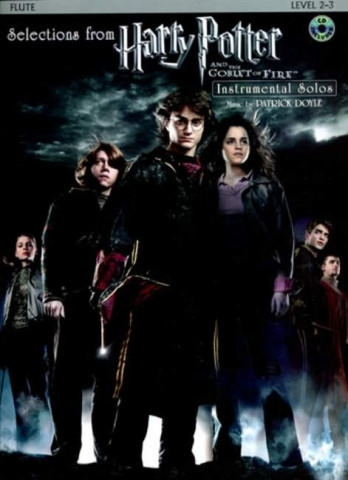 Williams, John / Doyle, Patrick - Harry Potter And The Goblet Of Fire - treble recorder + CD