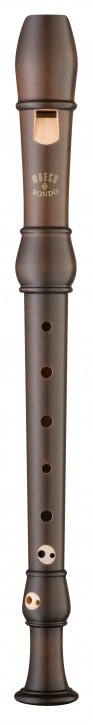 soprano recorder Moeck 2201 Flauto Rondo, maple stained