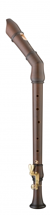 tenor recorder Moeck 2441 Flauto Rondo, Knick tenor, maple stained