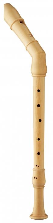 tenor recorder Moeck 2450 Flauto Rondo, Knick tenor, maple