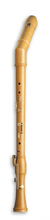 bass recorder Mollenhauer 2546K Canta bend neck, pearwood