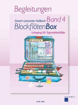 Hellbach, Daniel - BlockflötenBox  4 -  Klavierbegleitungen