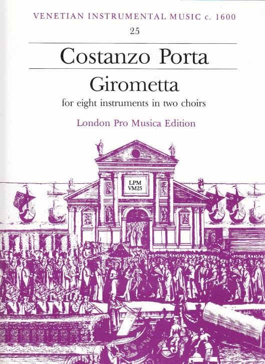 Porta, Costanzo - Girometta - SATB + SATB,