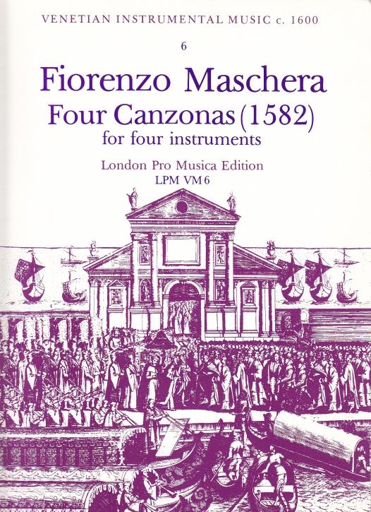 Maschera, Fiorenzo - Vier Canzonen - SATB