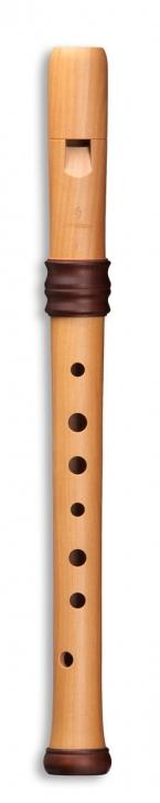 Sopranblockflöte Mollenhauer 4117 Adri's Traumflöte, Birnbaum natur, barocke Griffweise