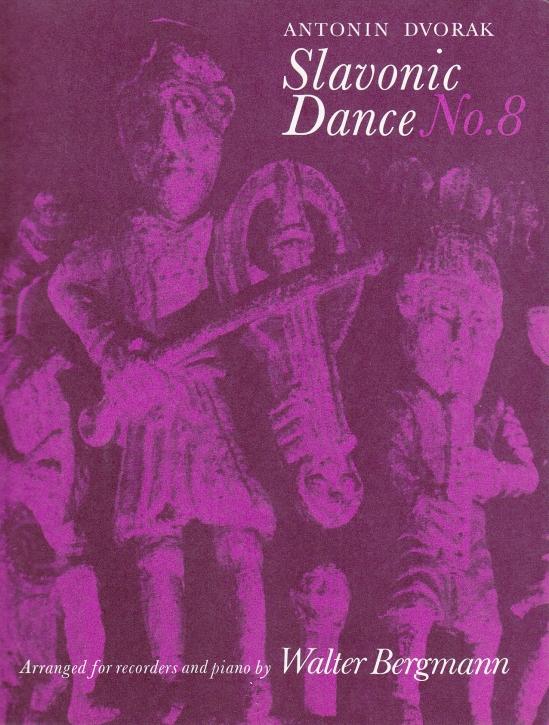 Dvorak, Antonin - Slawischer Tanz Nr. 8 - SAT und Klavier