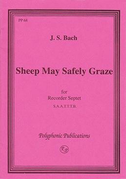 Bach, Johann Sebastian - Schafe können sicher weiden - SAATTTB