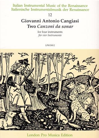 Cangiasi, Giovanni Antonio - Two Canzoni da sonar  - SATB