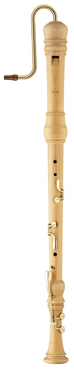 bass recorder Moeck 4520 Rottenburgh, maple stained