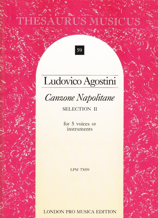 Agostini, Ludovico - Canzone Napolitane Selection II - AATTB