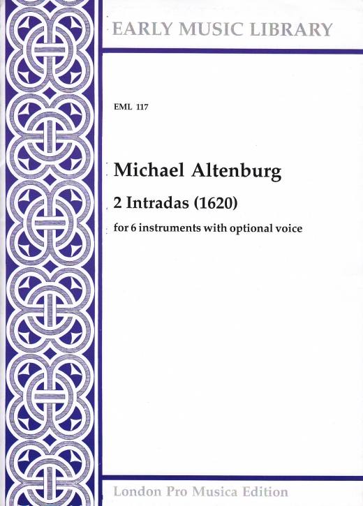 Altenburg, Michael - 2 Intradas - SSATTB
