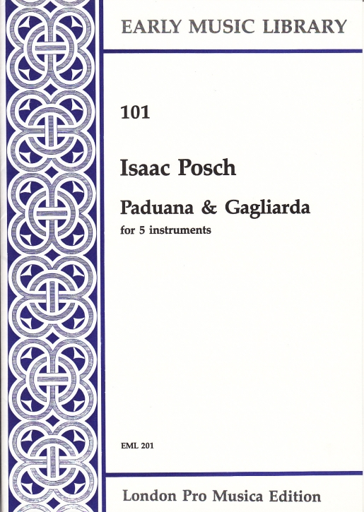 Posch, Isaac - Paduana & Galliard - SSATB