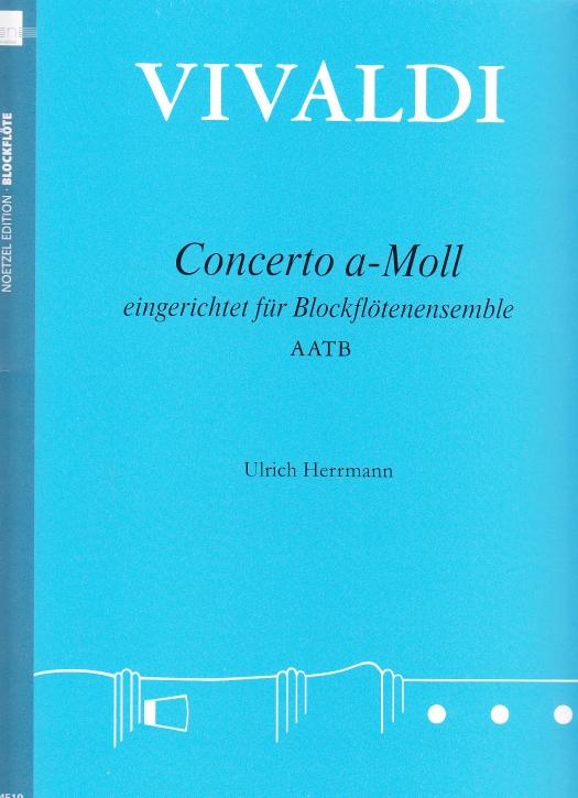 Vivaldi, Antonio - Concerto a-moll - AATB