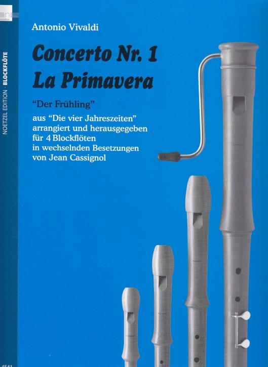 Vivaldi, Antonio - Concerto Nr. 1  La Primavera - AAAB / AATB / SATB