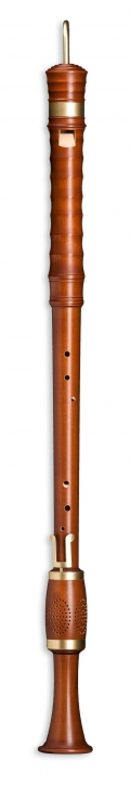 great bass recorder  Mollenhauer 4607 Kynseker, maple stained