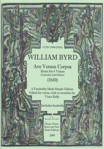 Byrd, William - Ave verum corpus - SATB oder ATTB