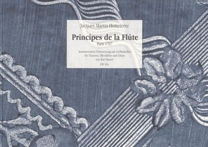 Hotteterre, Jaques - Principes de la Flûte - Flöte solo