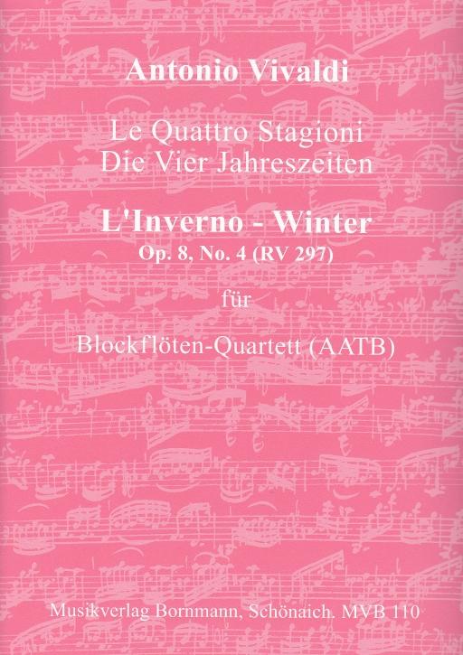 "Vivaldi, Antonio - Concerto Op. 8, 4 ""L'Inverno - Winter""  RV 297  - AATB"