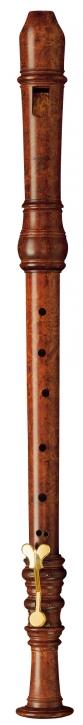 Tenorblockflöte Moeck 5455 Hotteterre, 442 Hz, Buchsbaum gebeizt