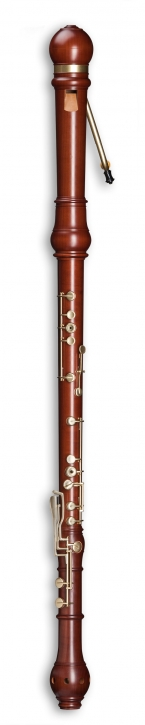 great bass recorder Mollenhauer 5606 Denner, pearwood