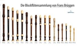 Poster - Die Blockflötensammlung von Frans Brüggen