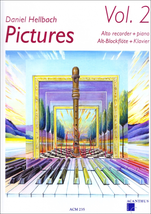Hellbach, Daniel - Pictures Vol. 2 -  treble recorder + CD