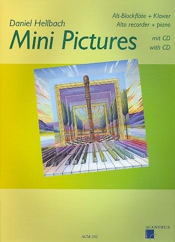 Hellbach, Daniel - Mini Pictures - treble recorder + CD